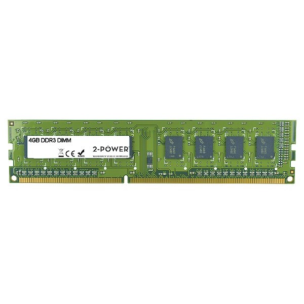 Módulo DDR3 4GB Multispeed 1066/1333/1600 2-Power