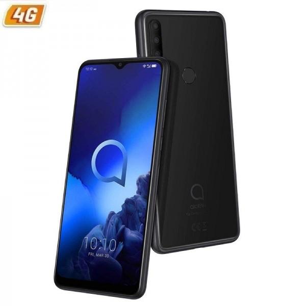 """Smartphone Alcatel 3X (2019) 4GB/64GB 6.52"""" Black"""