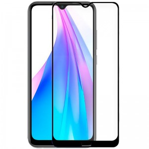 Pelicula Vidro Temperado Xiaomi Note 8 Full 3D Black