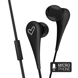 Earphones Energy Style 1+ Black c/micro