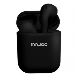 Auriculares Innjoo Go Black Bluetooth c/estojo de carga