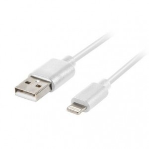 Cabo Lanberg Lightning (Apple) 1.8m Branco