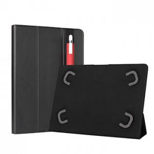 "Capa Tablet Leotec 10.1"" Universal Preta"