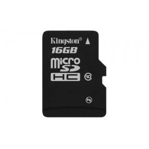 Cartão Micro-SD 16GB Classe 10 HC Kingston