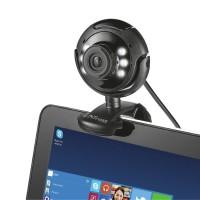 Webcam Trust Spotlight Pro 1.3MP c/LED