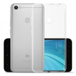 Capa Silicone Xiaomi Redmi Note 5A/Prime Transparente